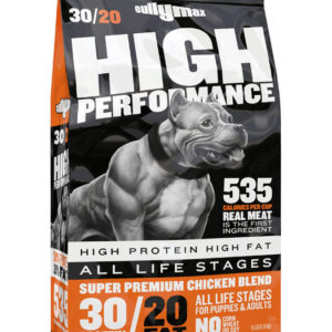 high protein high calorie dog food