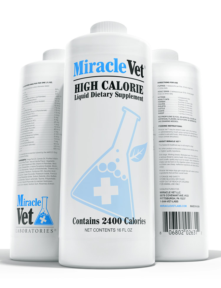 liquid weight gainer for dogs